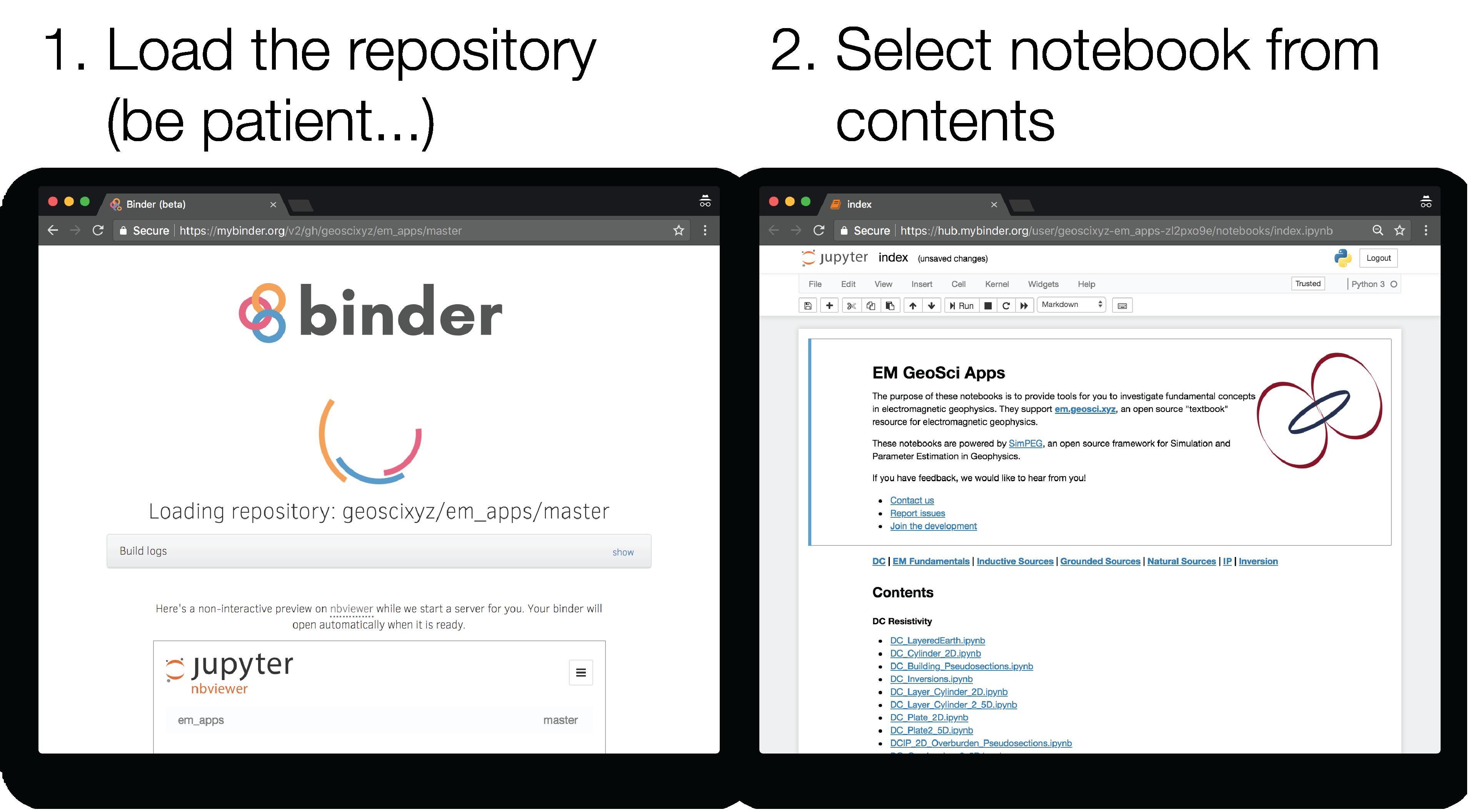 binder-steps